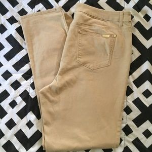 CHICO'S SLIMMING GF ANKLETJEANS SIZE 25